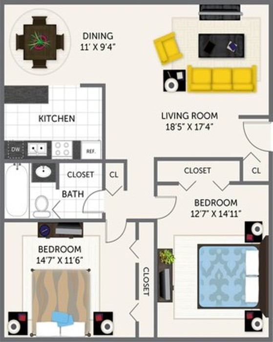 Oak Glen Floor Plan Image